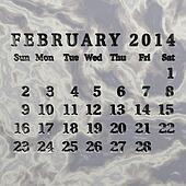 Stone calendar 2014, February