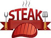 steak badge