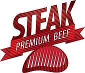 steak sign