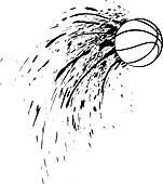 Basketball Splatter