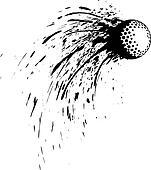 Golf Splatter