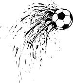 Soccer or Football Splatter