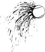 Tennis Splatter