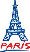 Paris Eiffel tower design