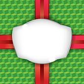 Christmas Present Wrapping Paper Background