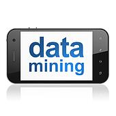 Information concept: Data Mining on smartphone