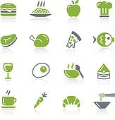 Food Icons - 1 of 2 - Natura Series