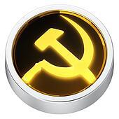 Socialism round icon