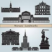 Warsaw landmarks and monuments