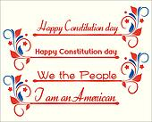 Constitution Day - Text Banners
