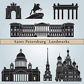 Saint Petersburg landmarks and monuments