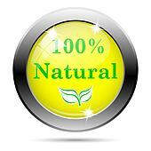 100 % Natural icon