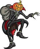 Halloween Jack Pumpkin Head