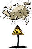 Falling Rock Warning