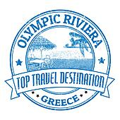 Olympic Riviera stamp