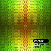Seamless pattern of geometric shape
