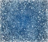 Frosty winter background