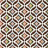seamless abstract ethnic geometric