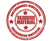 Hazardous Material-stamp