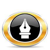 pen icon,