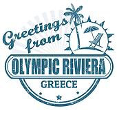 Olympic Riviera, stamp