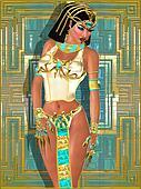 Beautiful Egyptian princess