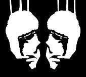 Two Heads Dark Illustration