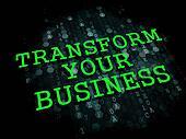 Transform Your Business Concept.