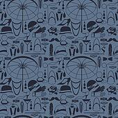Retro of 1920s style seamless pattern.