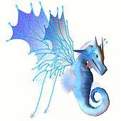 Blue Faerie Dragon