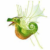Green Faerie Dragon
