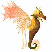 Yellow Faerie Dragon
