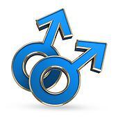 Male love symbol