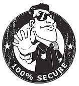 Security guard 100  Secure