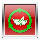 Recycle arrows icon
