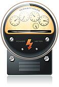 Electricity hydro power counter