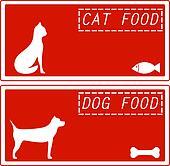 set background for pet food