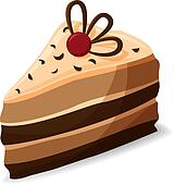 Cheesecake Clip Art - Royalty Free - GoGraph