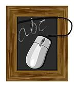 Chalkboard ABC Mouse
