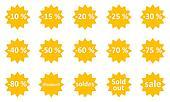 Sale icons