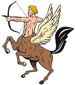 Centaur Bow Arrow Shooting