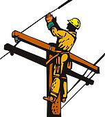 Power Lineman Electrician