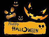Halloween Invitation or flyer