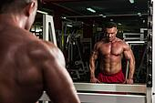 Health Club Workout Trap Exercises