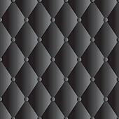 vector black leather upholstery background