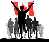 Winner of the flag of Canada