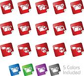 Folder Icons 1 -- Stickers Series