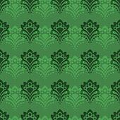 Background - Emerald Flowers