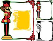 Nutcracker soldier frame