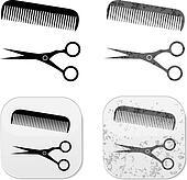 Hair Salon gunge design